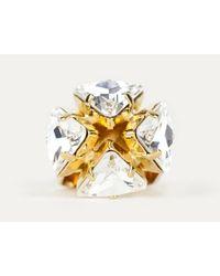 Sabrina Dehoff   Metallic Mountain Crystal Ring   Lyst