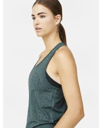 Outdoor Voices - Green Racerback Pocket Tank - Lyst