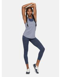 Outdoor Voices | Blue Featherweight Hurdle Tank | Lyst