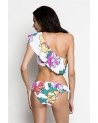 6 Shore Road By Pooja - White Beach Break Bikini Ashbury Poppies Ivory - Lyst