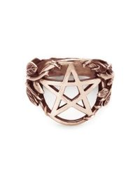 Pamela Love | Pink Pentagram Ring | Lyst