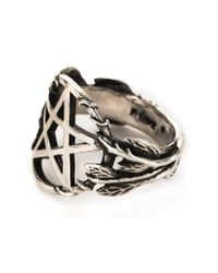 Pamela Love | Metallic Pentagram Ring | Lyst