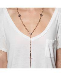 Pamela Love | Pink Dagger Rosary | Lyst