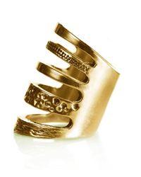 Pamela Love   Metallic Single Cage Ring   Lyst