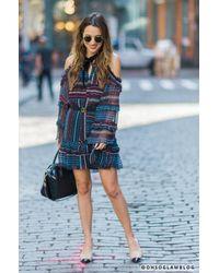 Parker - Blue Bianca Dress - Lyst