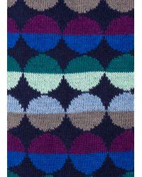 Paul Smith - Blue Navy 'Sunset Spot' Socks for Men - Lyst