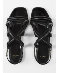 Paul Smith - Black Suede 'Carlin' Sandals - Lyst