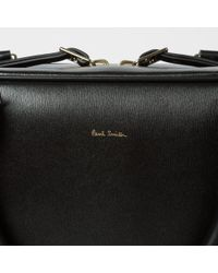 Paul Smith | Men's Black 'city Embossed' Leather Business Folio for Men | Lyst