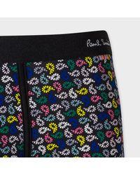 Paul Smith - Men's Black Paisley Print Low-rise Boxer Briefs for Men - Lyst