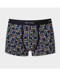 Paul Smith - Men's Black Paisley Print Low-rise Boxer Briefs for Men - Lyst