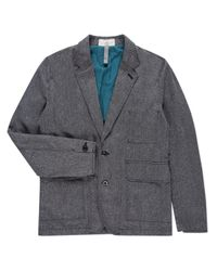 Paul Smith - Gray Two Button Tweed Blazer for Men - Lyst