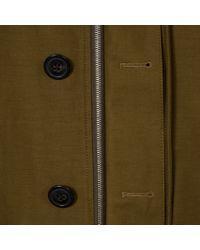 Paul Smith - Blue Men's Oversized Khaki Cotton Mac for Men - Lyst