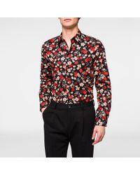 Paul Smith floral print shirt Cheap Sale View Visit New Cheap Price Cheap Footaction Sale Wholesale Price JGFFda29lI