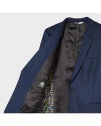Paul Smith | Blue Women's Navy Wool Blazer | Lyst