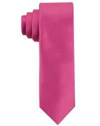 Perry Ellis | Pink Carlson Mini Tie for Men | Lyst