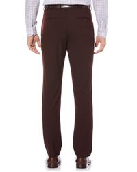 Perry Ellis - Brown Slim Tonal Dress Pant for Men - Lyst