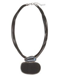 Phase Eight - Black Ilsa Necklace - Lyst