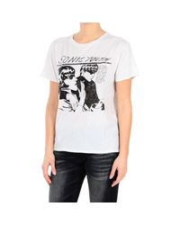 R13 | Sonic Youth White T-shirt for Men | Lyst
