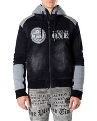 "Philipp Plein | Multicolor Denim Jacket ""state"" for Men 