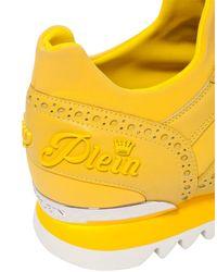 "Philipp Plein - Yellow Runner ""hainan"" for Men - Lyst"