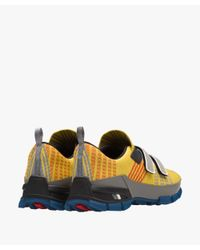 Prada - Yellow Crossection Sneakers for Men - Lyst