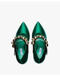 Prada - Green Mary Jane Pump - Runway Show - Lyst