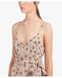 Prada - Multicolor Silk Dress - Lyst