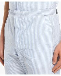 Prada - Blue Light Technical Fabric Trousers for Men - Lyst