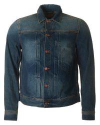 Nudie Jeans | Blue Sonny Denim Jacket for Men | Lyst
