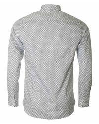 Ted Baker - White Lenons Circle Print Shirt for Men - Lyst