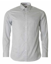 Ted Baker - White Lenons Circle Print Shirt for Men - Lyst