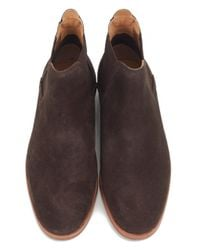 H by Hudson - Brown Tonti Suede Chelsea Boots for Men - Lyst