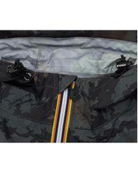 K-Way - Multicolor Claude Graphic Full Zip Jacket for Men - Lyst