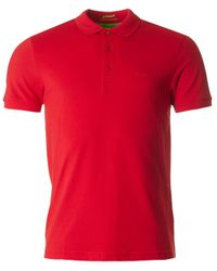 BOSS Athleisure - Red Paule Slim Fit Sleeve Pique Polo for Men - Lyst