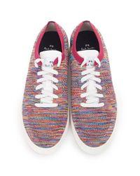 Paul Smith - Multicolor Doyle Multi Colour Knit Mesh Trainers for Men - Lyst