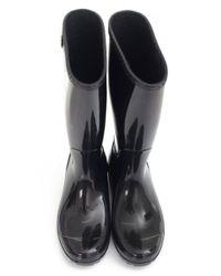Ugg - Black Shaye Waterproof Rubber Wellingtons - Lyst