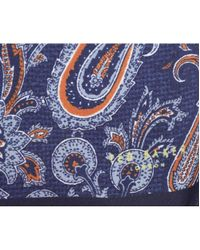 Ted Baker - Blue Bouley Pocket Square for Men - Lyst