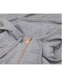 EA7 - Gray Quilted Side Logo Tracksuit - Lyst