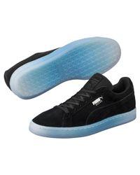 PUMA - Black Suede Classic Explosive Men's Sneakers for Men - Lyst
