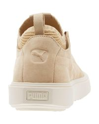 PUMA - Natural Breaker Knit Sunfaded Sneakers - Lyst