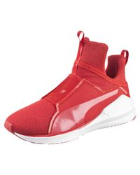 PUMA - Red Fierce Core Women's Training Shoes - Lyst