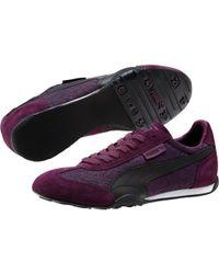 PUMA - Purple 76 Runner Scratched Women's Running Shoes - Lyst