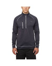 PUMA - Blue Pwrwarm Elevated Quarter-zip Golf Top for Men - Lyst