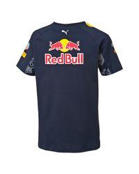 PUMA - Blue Red Bull Racing Team T-shirt for Men - Lyst