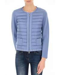 Moncler - Blue Clothing For Women - Lyst