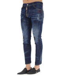 DSquared² - Blue Clothing For Men for Men - Lyst