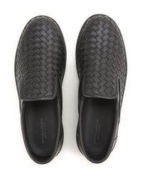 Bottega Veneta Black Shoes For Men for men