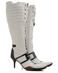 Bally - Gray Shoes For Women - Lyst