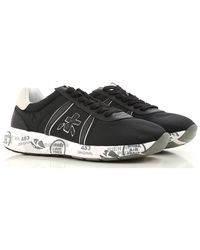 Premiata - Black 'lucy' Sneakers for Men - Lyst