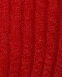 Rag & Bone - Red Donna V-neck - Lyst